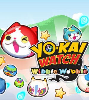 Yo-Kai Watch Wibble Wobble sur smartphones !