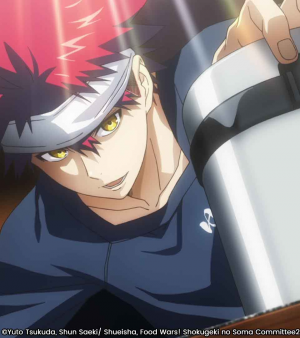 Food Wars aura sa saison 3 !