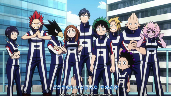Le nouvel opening MHA arrive !