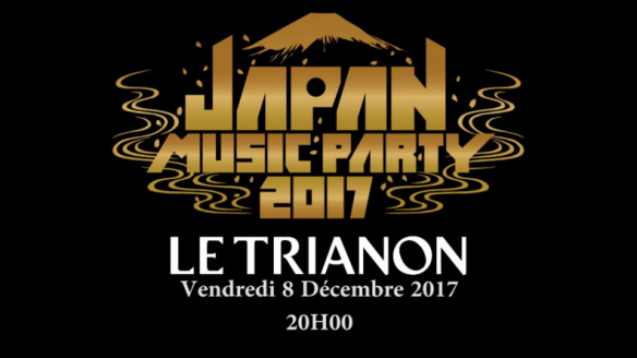 Prêts pour Japan Music Party 2017