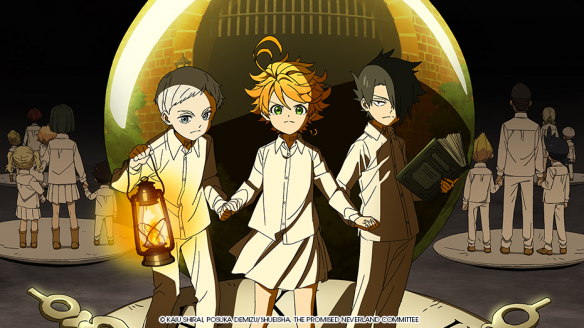 The Promised Neverland est sur ADN
