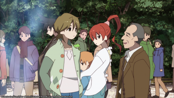 The Eccentric Family Saison 1 sur ADN