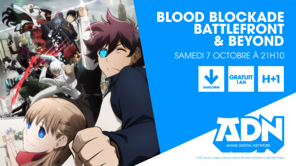 Blood Blockade Battlefront & Beyond arrive le 7 octobre sur ADN !