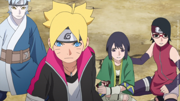Boruto épisode 41 : La Force collective